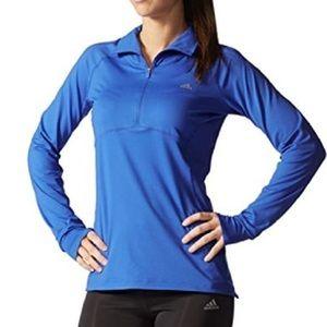 Adidas Half Zip Athleisure Half Zip Pullover